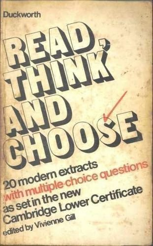 Read, Think and Choose: 1st Series