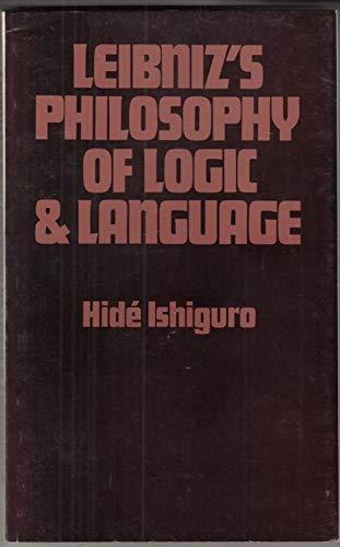 9780715606452: Leibniz's Philosophy of Logic and Language
