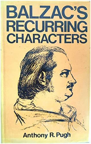 9780715607985: Balzac's Recurring Characters