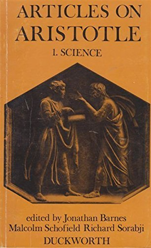 9780715608081: Articles on Aristotle: 1. Science