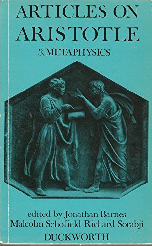 9780715609002: Articles on Aristotle. 3: Metaphysics