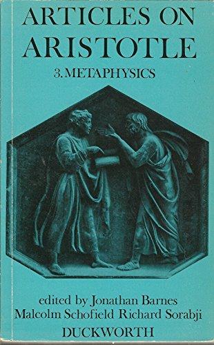 9780715609002: Articles on Aristotle. 3: Metaphysics