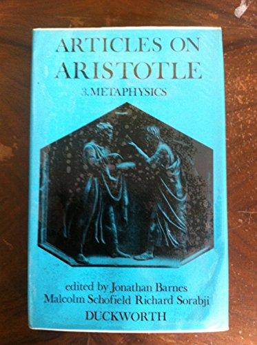 9780715609019: Articles on Aristotle. 3: Metaphysics