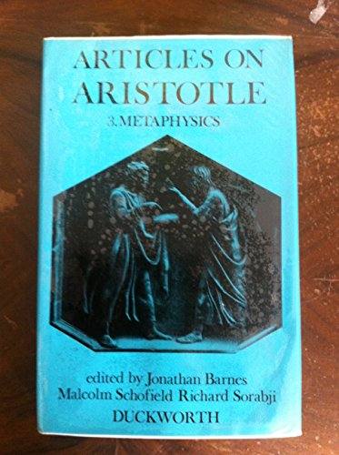 9780715609019: Articles on Aristotle. 3: Metaphysics