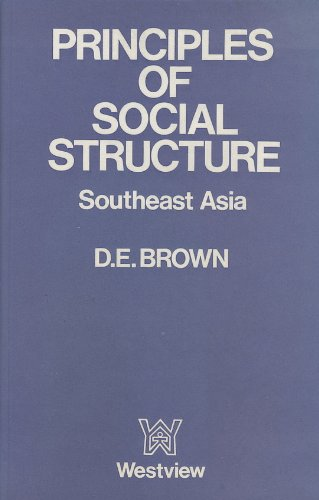 9780715609170: Principles of Social Structure: South East Asia