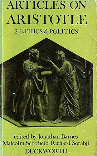 9780715609309: Articles on Aristotle: vol. 2 Ethics and Politics
