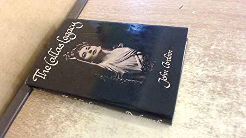 9780715609750: Callas Legacy