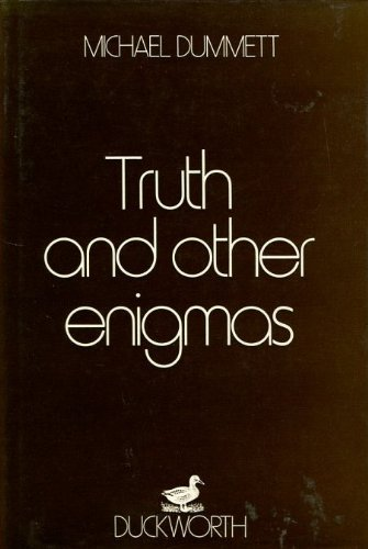 9780715609972: Truth and Other Enigmas