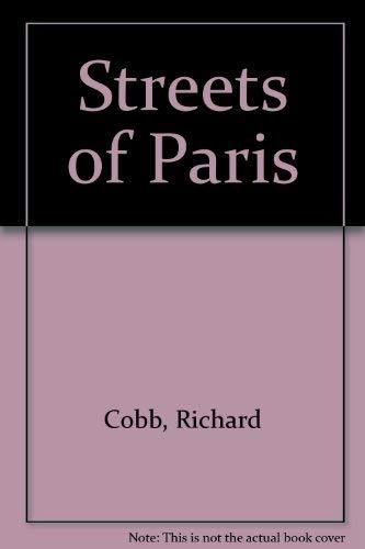 9780715611210: Streets of Paris