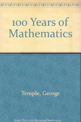 9780715611302: 100 Years of Mathematics