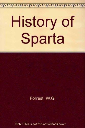 9780715614242: History of Sparta