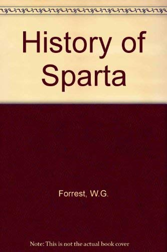 9780715614242: A history of Sparta, 950-192 B.C