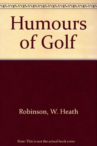 9780715614877: Humours of Golf