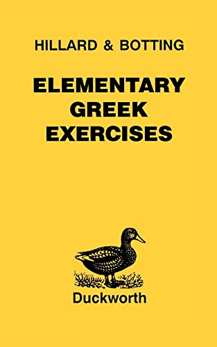 9780715615249: Elementary Greek Exercises (Greek Language)