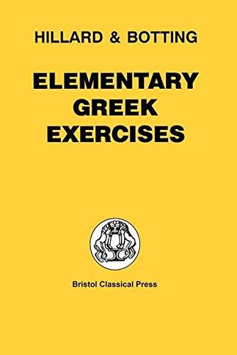 9780715615249: Elementary Greek Exercises (Greek Language)