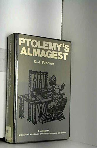 PTOLEMY?S ALMAGEST.: Toomer, G. J.,