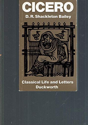9780715616031: Cicero (Classical Life and Letters)
