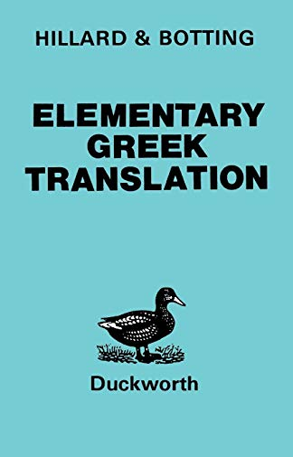 9780715616543: Elementary Greek Translation
