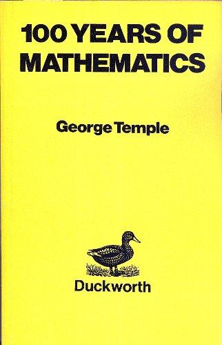 9780715616611: 100 Years of Mathematics