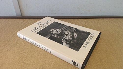 9780715616918: Callas Legacy