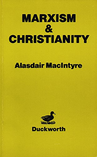 Marxism and Christianity: MacIntyre, A.