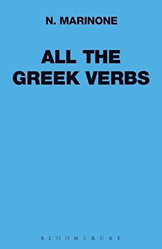 9780715617724: All the Greek Verbs