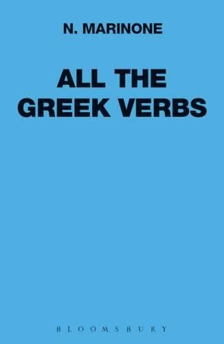 9780715617724: All the Greek Verbs (Greek Language)
