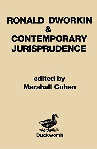9780715618172: Ronald Dworkin and Contemporary Jurisprudence