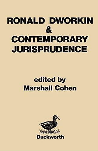 9780715618172: Ronald Dworkin and Contemporary Jurisprudence