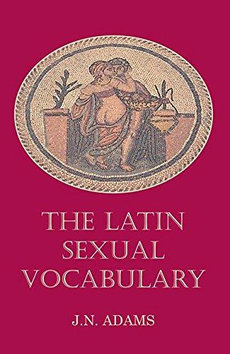 9780715619155: Latin Sexual Vocabulary