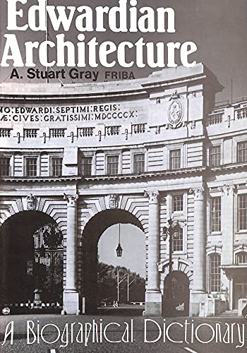 9780715621417: Edwardian Architecture: A Biographical Dictionary