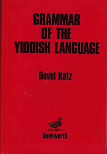 9780715621615: Grammar of the Yiddish Language