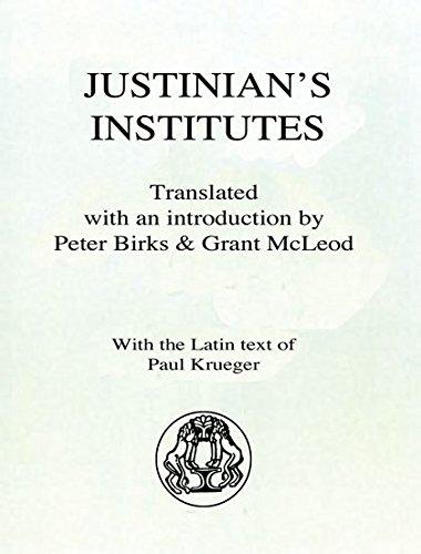 9780715621653: Justinian's Institutes