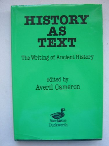 9780715622407: History as Text