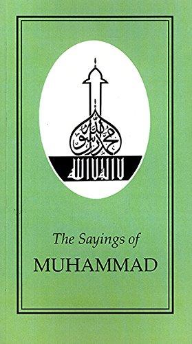 9780715623657: Sayings of Muhammad (Duckworth Sayings Series)