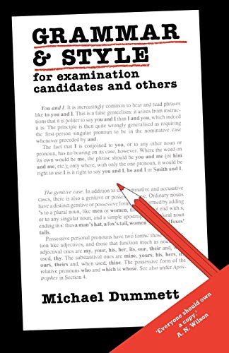 9780715624227: Grammar and Style: For Examination Candidates and Others