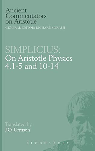 9780715624340: Simplicius: On Aristotle Physics 4.1-5 and 10-14 (Ancient Commentators on Aristotle)