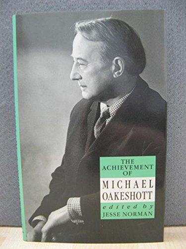 9780715624517: Achievement of Michael Oakeshott