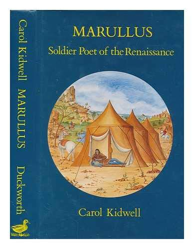 9780715625101: Marullus: Soldier Poet of the Renaissance