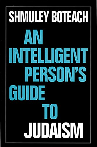 9780715628645: An Intelligent Person's Guide to Judaism (Intelligent Person's Guide Series) (Vol 1)