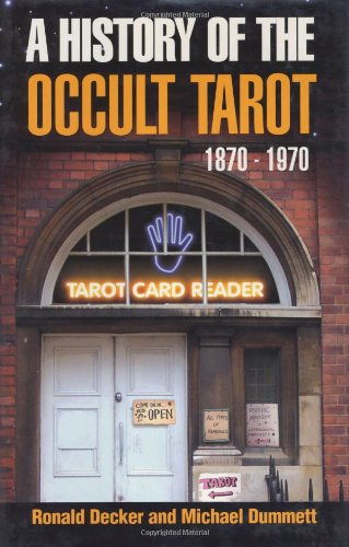 9780715631225: History of the Occult Tarot