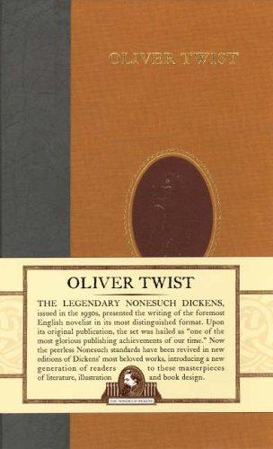 9780715634707: Oliver Twist (Nonesuch Dickens)