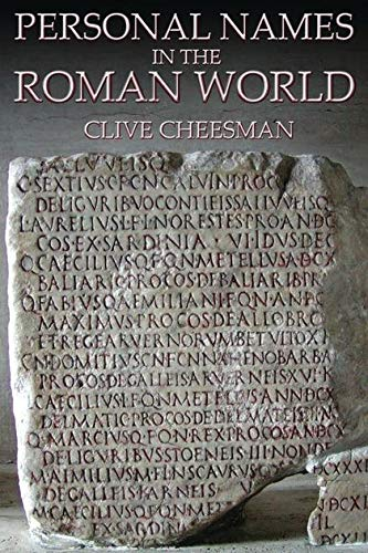 9780715636183: Personal Names in the Roman World