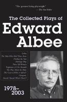 9780715640692: Collected Plays of Edward Albee: Pt. 3: 1978-2003