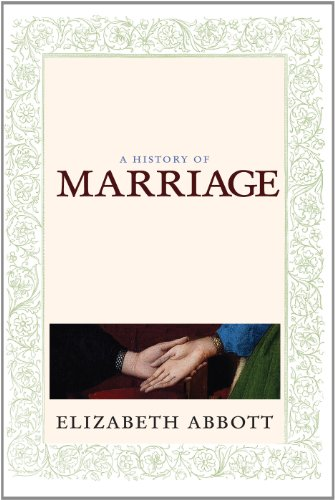 9780715641705: History of Marriage