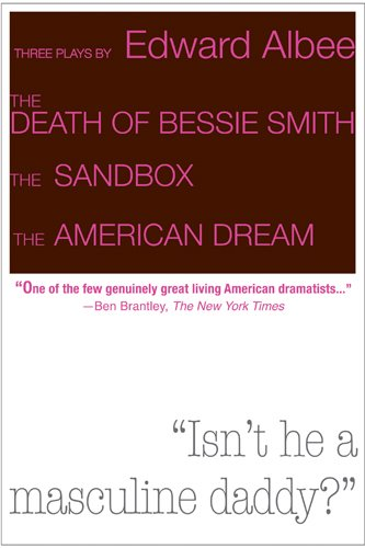 9780715645321: Three Plays by Edward Albee: The Death of Bessie Smith, The Sandbox, The American Dream