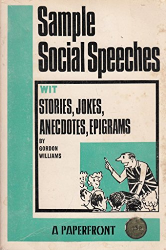 9780716005193: Sample Social Speeches (Paperfronts)