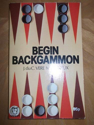 9780716007180: Begin Backgammon (Paperfronts)