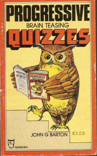 9780716007265: Progressive Brain Teasing Quizzes (Paperfronts S.)