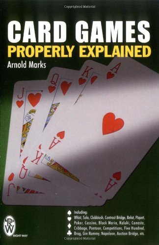 9780716020424: Card Games Properly Explained